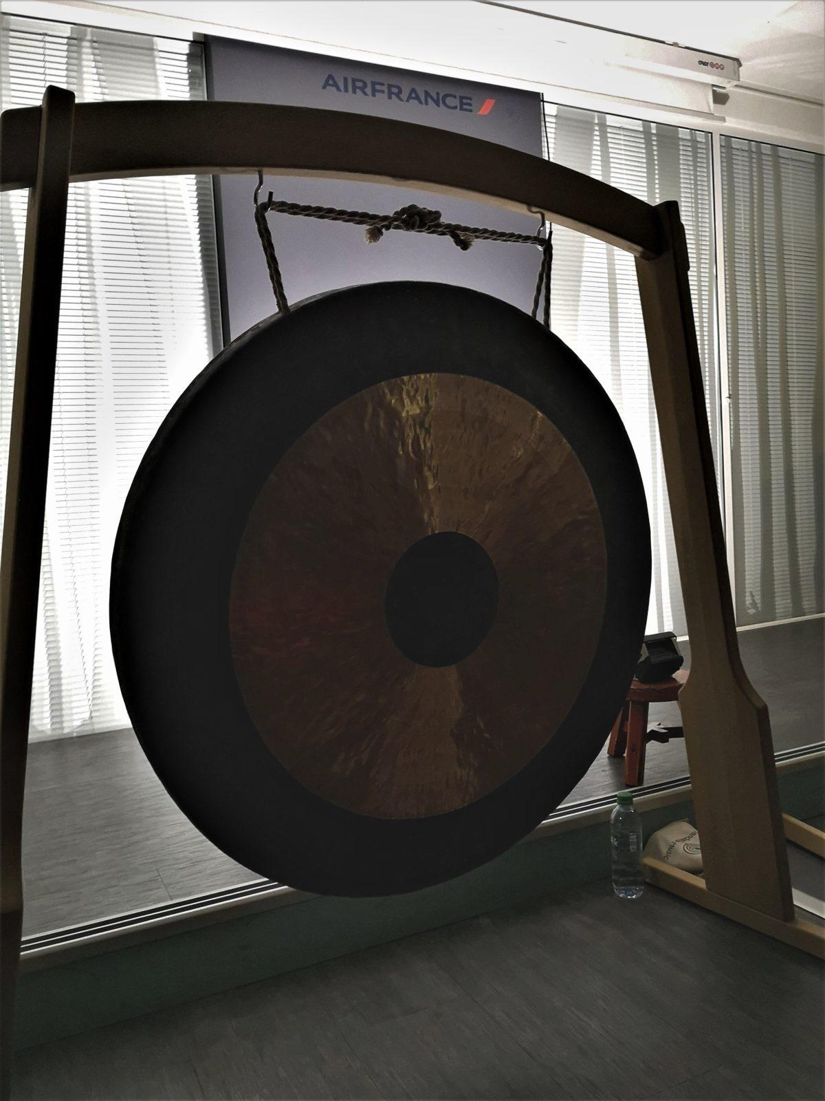 Photo d'un tam tam gong