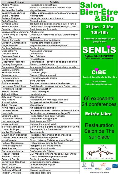 Le massage sonore sera au 1er salon du bien-être de Senlis fin janvier 2020